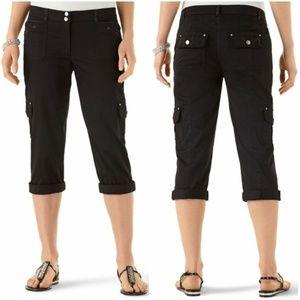3/$30 White House Black Market Capri Pants 8